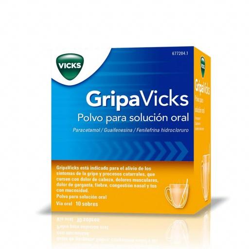 GRIPAVICKS 10 SOBRES