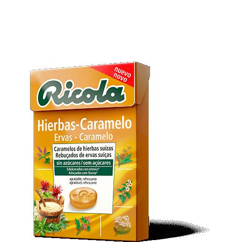 Ricola caramelos Hierbas Caramelo 50gr