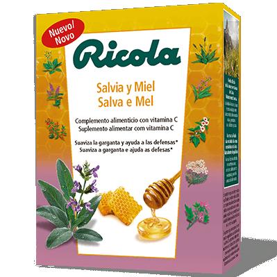 Ricola Miel y Salvia 14 caramelos