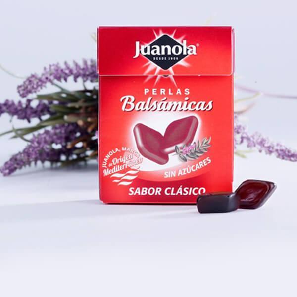JUANOLA PERLAS BALSÁMICOS SABOR CLÁSICO