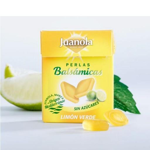 JUANOLA PERLAS BALSÁMICOS SABOR LIMÓN VERDE
