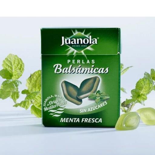 JUANOLA PERLAS BALSÁMICOS SABOR MENTA