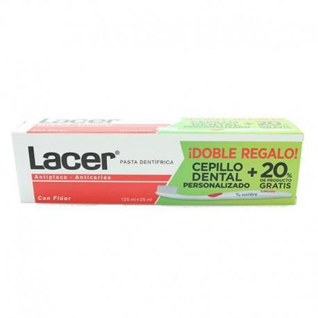 Lacer Pasta Dental 125 mL + 20 % gratis