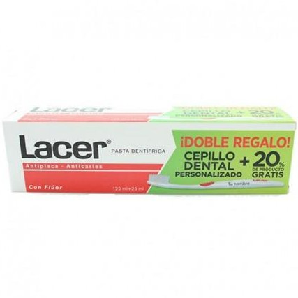 Lacer Pasta Dental 125 mL + 20 % gratis