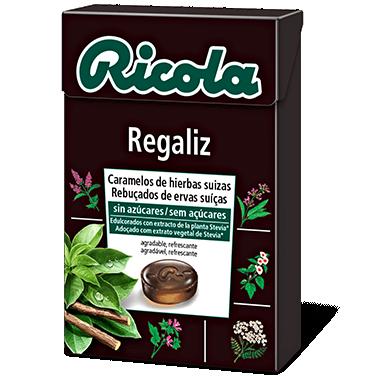 Ricola caramelos Regaliz 50gr