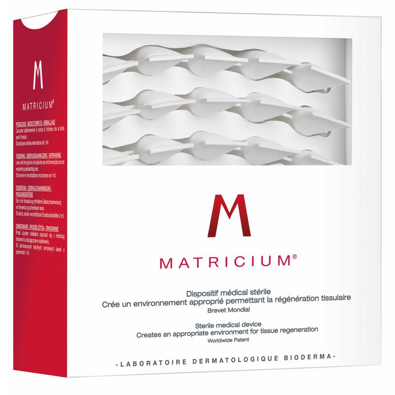 Bioderma Matricium Tratamiento de regeneración de la piel  30 monodosis