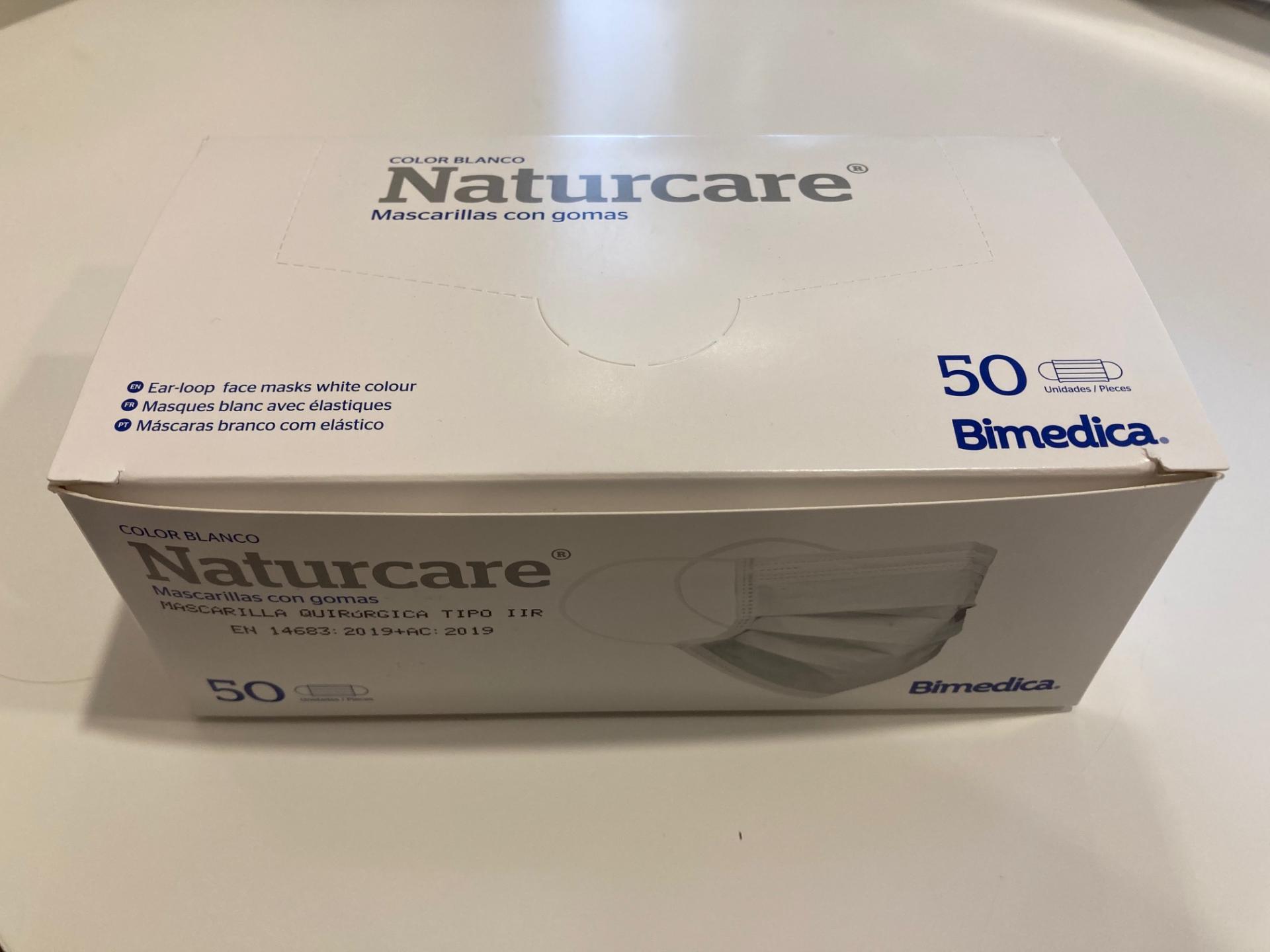 Mascarilla quirúrgica (caja de 50 unidades)