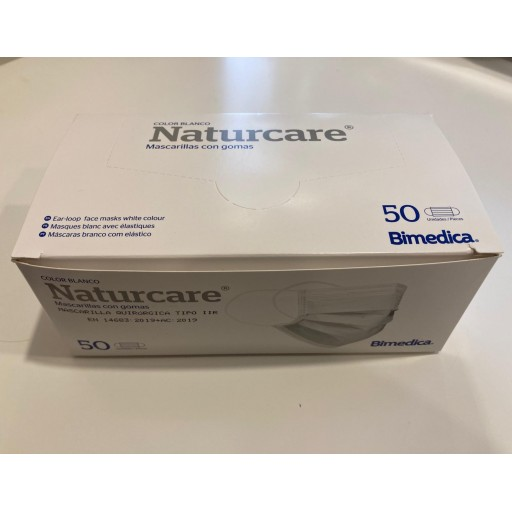 Mascarilla quirúrgica (caja de 50 unidades) [0]