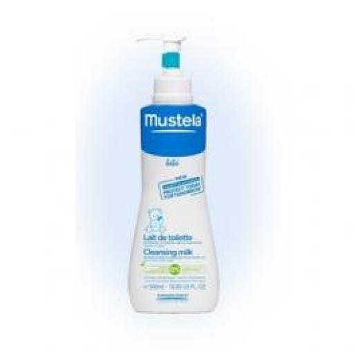 Mustela Loción Hidratante y Limpiadora 500 mL