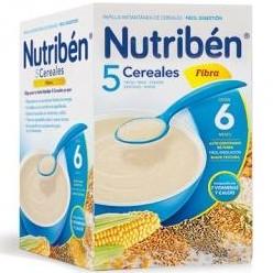 Nutriben 5 Cereales Fibra 600 gramos