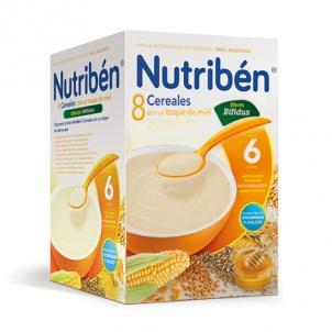 Nutriben 8 Cereales con un toque de miel digest 600 gramos