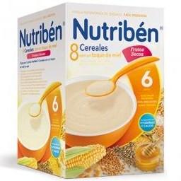 Nutriben 8 Cereales con un toque de miel y frutos secos 600 gramos