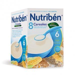 Nutriben 8 Cereales Digest 600 gramos