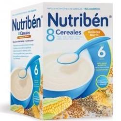 Nutriben 8 Cereales Galletas María 600 gramos