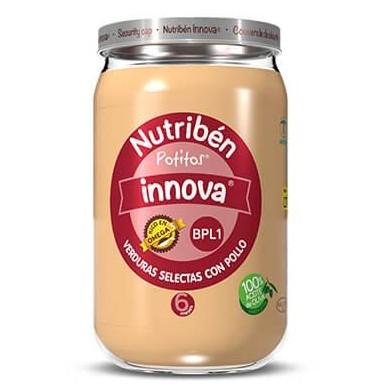 Potito Nutribén Innova Verduras Selectas con Pollo 235gr