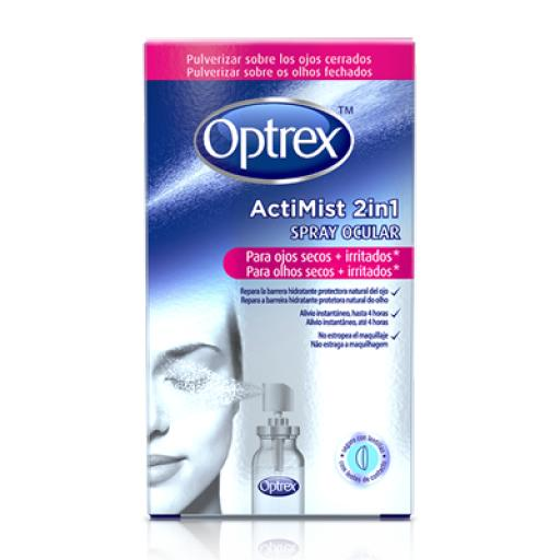 Optrex ActiMist Spray 2 en 1 para ojos secos e irritados