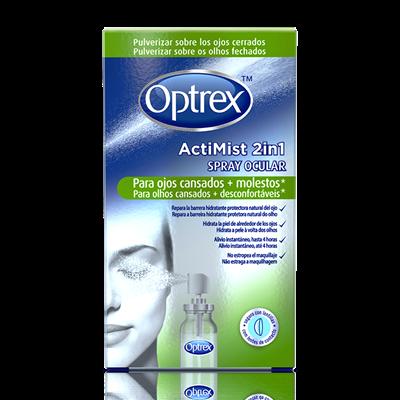 Optrex ActiMist Spray 2 en 1 para ojos cansados y molestos