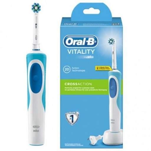 Oral B Vitality Cross Action Cepillo de dientes recargable con tecnología Braun