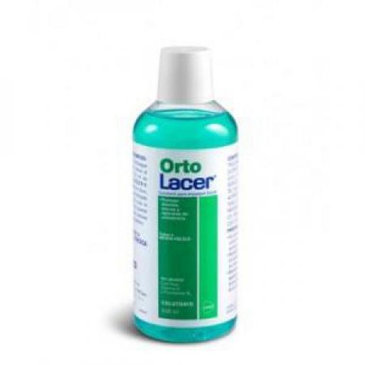 Lacer Colutorio Ortolacer menta 500 mL