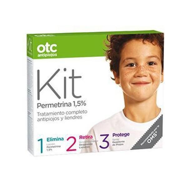 OTC Kit Antipiojos 1-2-3