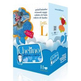 Chelino Fashion&Love Pañal Bañador Talla L (+15 Kg) 11 unidades