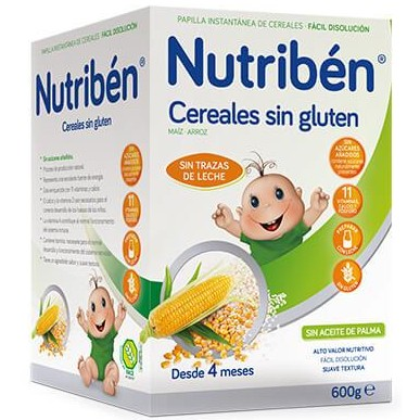 Cereales Nutribén Sin Gluten 600gr