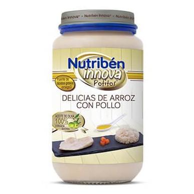 Potito Nutribén Innova Delicias de Arroz con Pollo 235gr