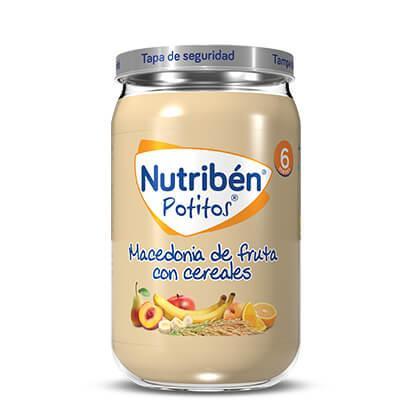 Potito Nutribén Macedonia de Frutas  235gr
