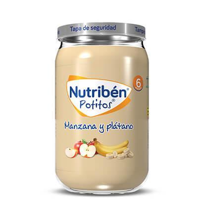 Potito Nutribén Manzana y Plátano  235gr