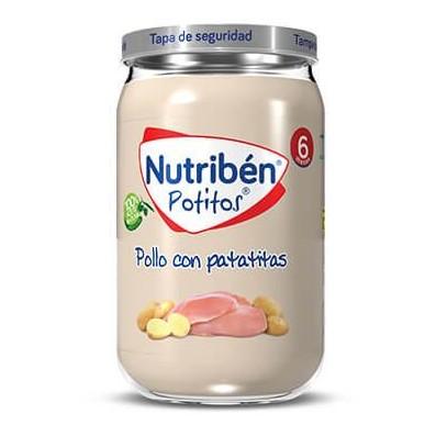 Potito Nutribén Pollo con Patatitas  235gr