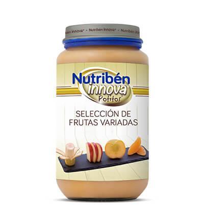 Potito Nutribén Innova Selección de Frutas Variadas 235gr