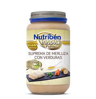 Potito Nutribén Innova Suprema de Merluza con Verduras 235gr