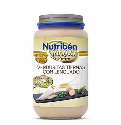 Potito Nutribén Innova Verduritas tiernas con Lenguado 235gr