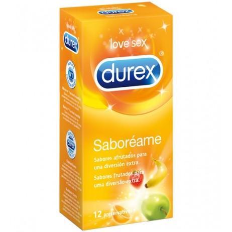 Preservativos Durex Saboreame 12 unidades