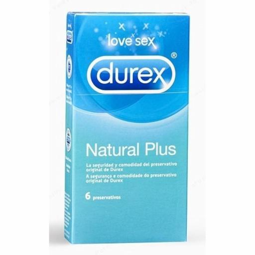 Preservativo Durex Natural Plus Total 6u