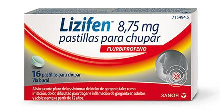 LIZIFEN 8.75MG 16 COMPRIMIDOS PARA CHUPAR