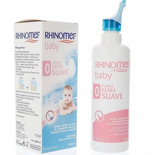RHINOMER F0 Baby Nebulizador para limpieza nasal 115ml