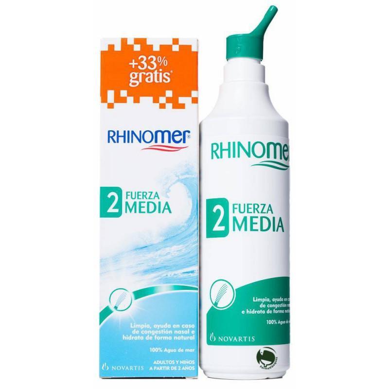 RHINOMER F2 Nebulizador para limpieza nasal 135 + 45ml GRATIS