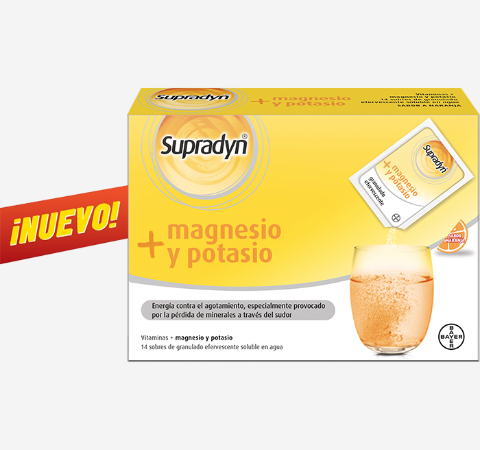 Supradyn® magnesio y potasio