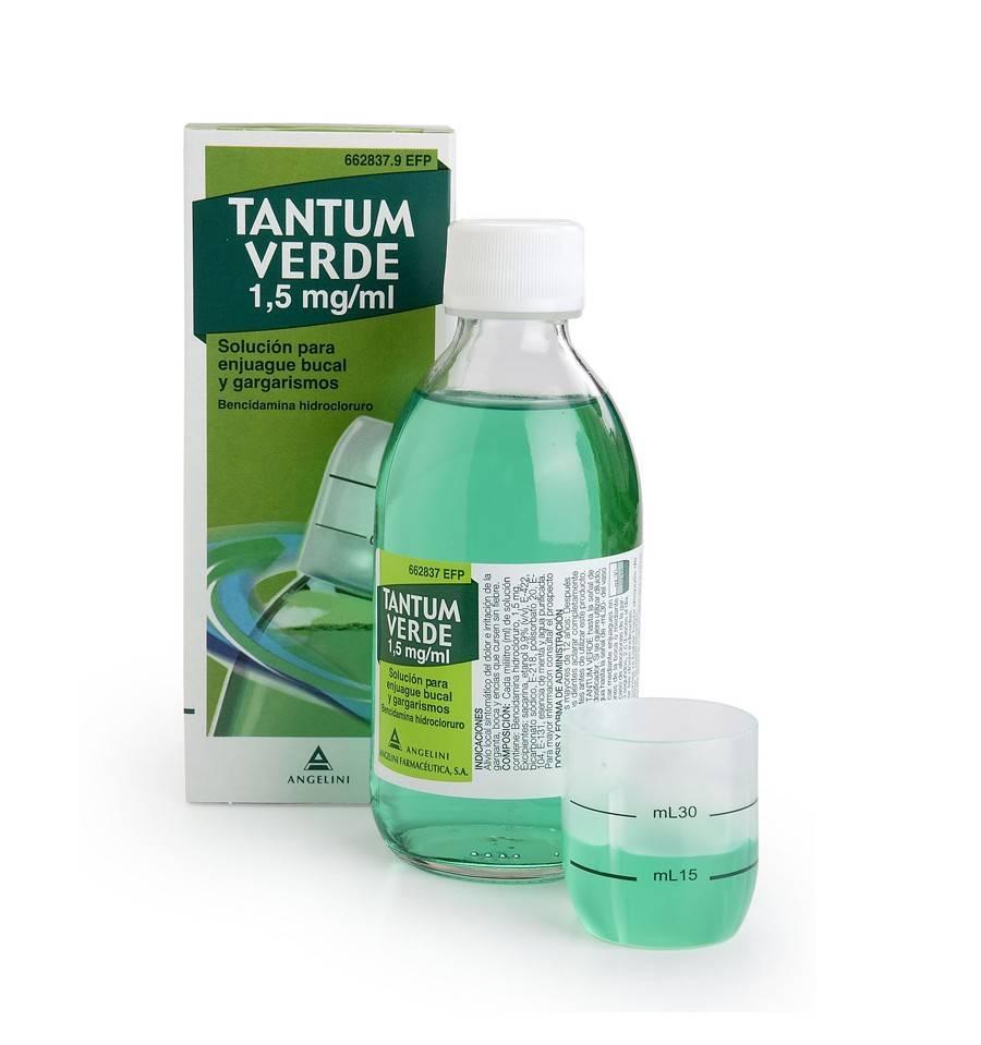 TANTUM VERDE 1.5 MG/ML COLUTORIO 240 ML