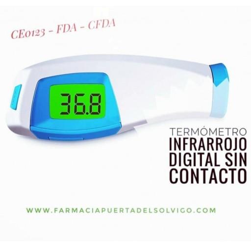 Termometro Infrarrojo sin Contacto KFT-24