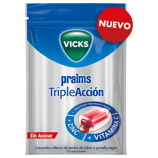 VICKS PRAIMS TRIPLE ACCIÓN 72GR