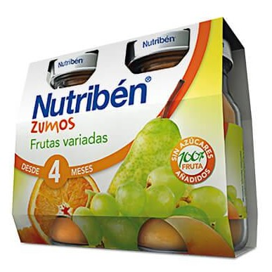 Zumo Nutribén de Frutas variadas 2 x 130gr [0]