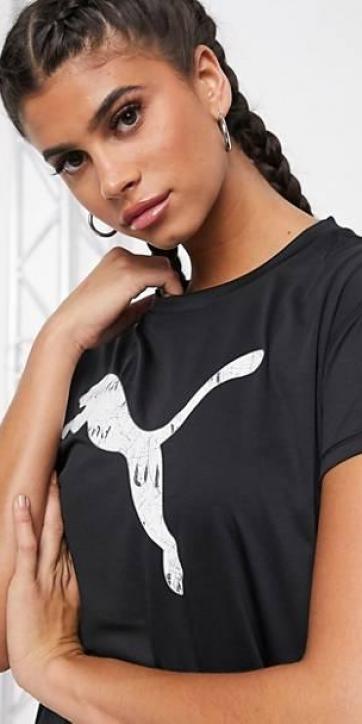 Camiseta Puma negro