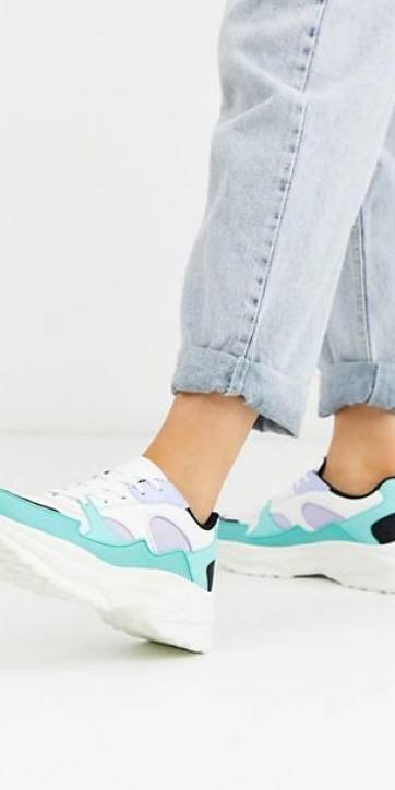 Chunky sneakers menta