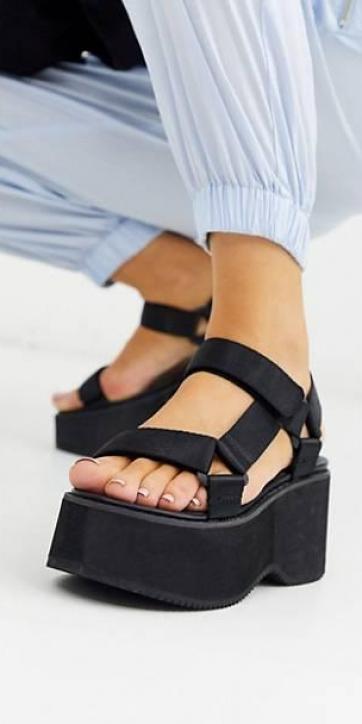 Zapatos plataforma deportiva