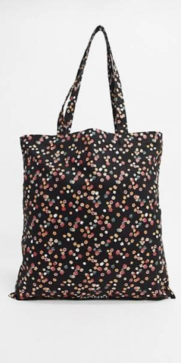 Bolso tote floral