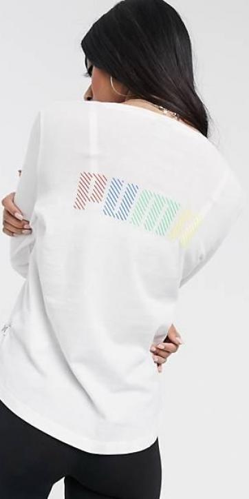 Camiseta multicolor logo