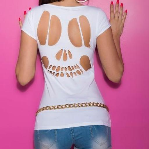Camiseta de moda con mensaje [2]
