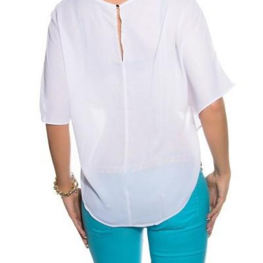 Camisa corta blanca capa posterior [1]